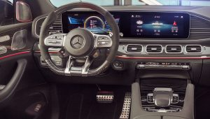 Mercedes AMG GLE 63 S Coupe 2021 Interior Wallpaper