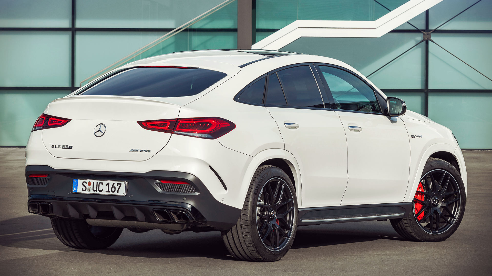 2021 Mercedes Amg Gle 63 S Wallpaper