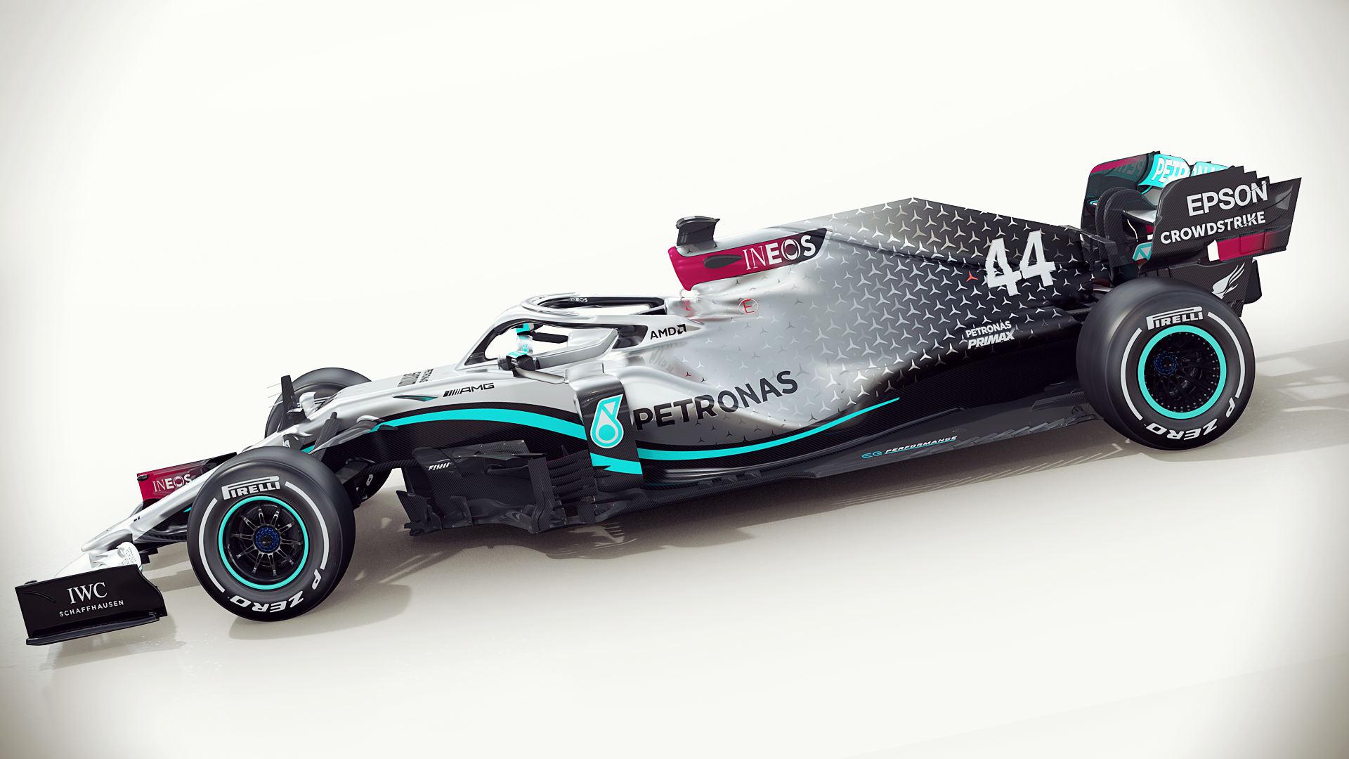 Mercedes F1 W11 2020 Car Wallpaper