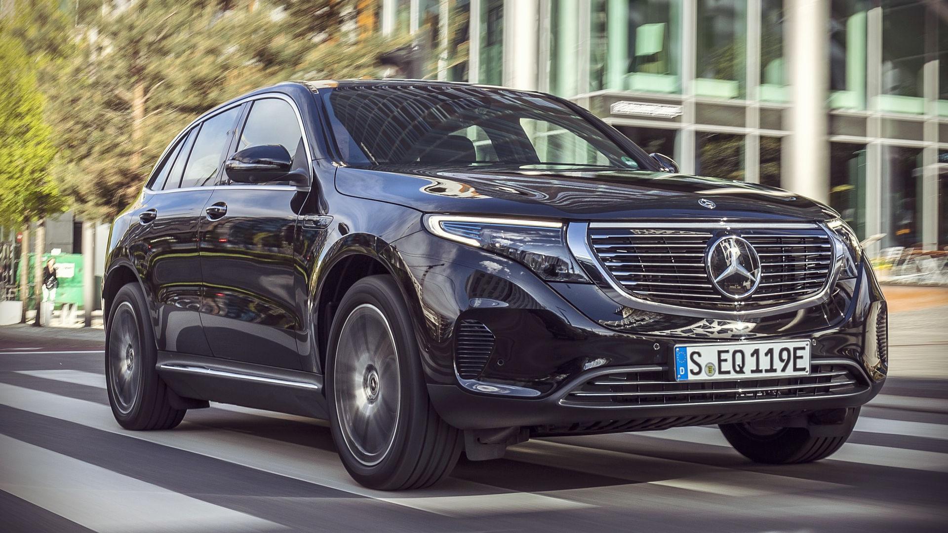 Mercedes-Benz EQC 2020 1