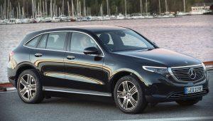 2020 Mercedes-Benz EQC Black