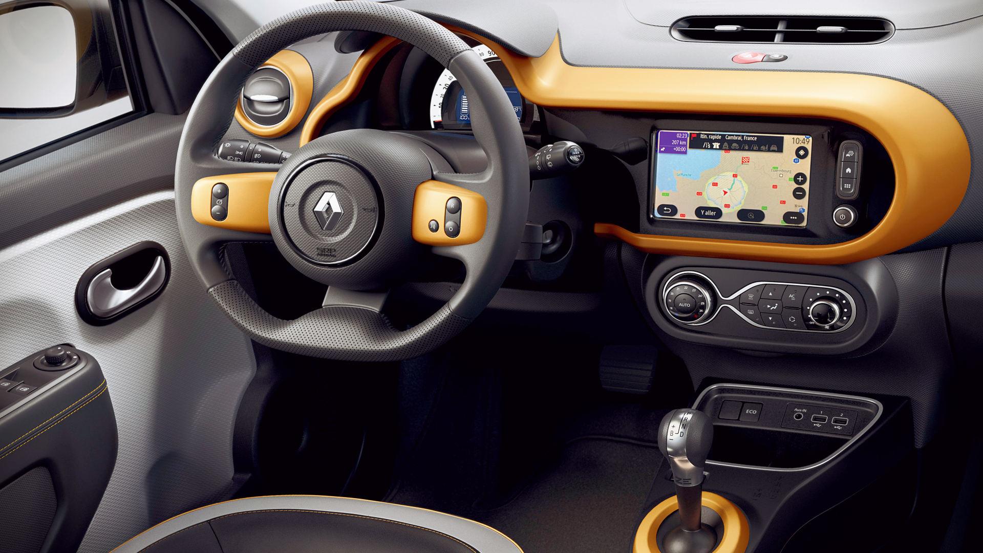 Renault Twingo ZE 2020 Interior Wallpaper
