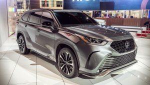 Toyota Highlander XSE 2021 1
