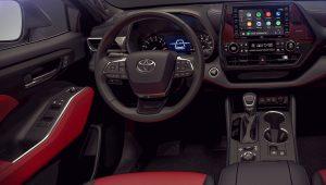 Toyota Highlander XSE 2021 Interior Wallpaper