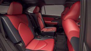 Toyota Highlander XSE 2021 Seats Wallpaper