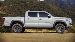 Toyota Tacoma 2021 Side Wallpaper