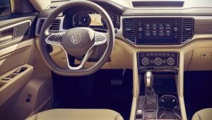 Volkswagen Atlas 2021 Interior Wallpaper