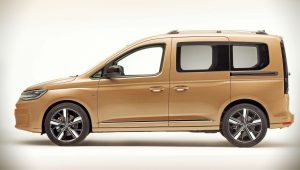 2021 Volkswagen Caddy Side Wallpaper Hd