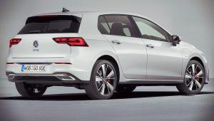 Volkswagen Golf GTE 2021 Hybrid Wallpaper