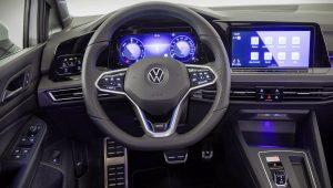 Volkswagen Golf GTE 2021 Interior Wallpaper
