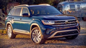 VW Atlas 2021 Wallpaper