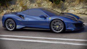 2019 Ferrari 488 Pista Blue