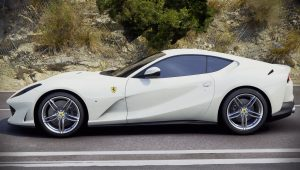 2018 Ferrari 812 Superfast White Wallpaper