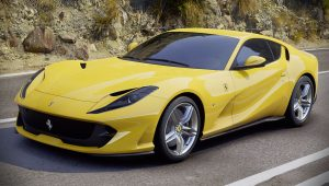 Ferrari 812 Superfast Yellow Wallpaper