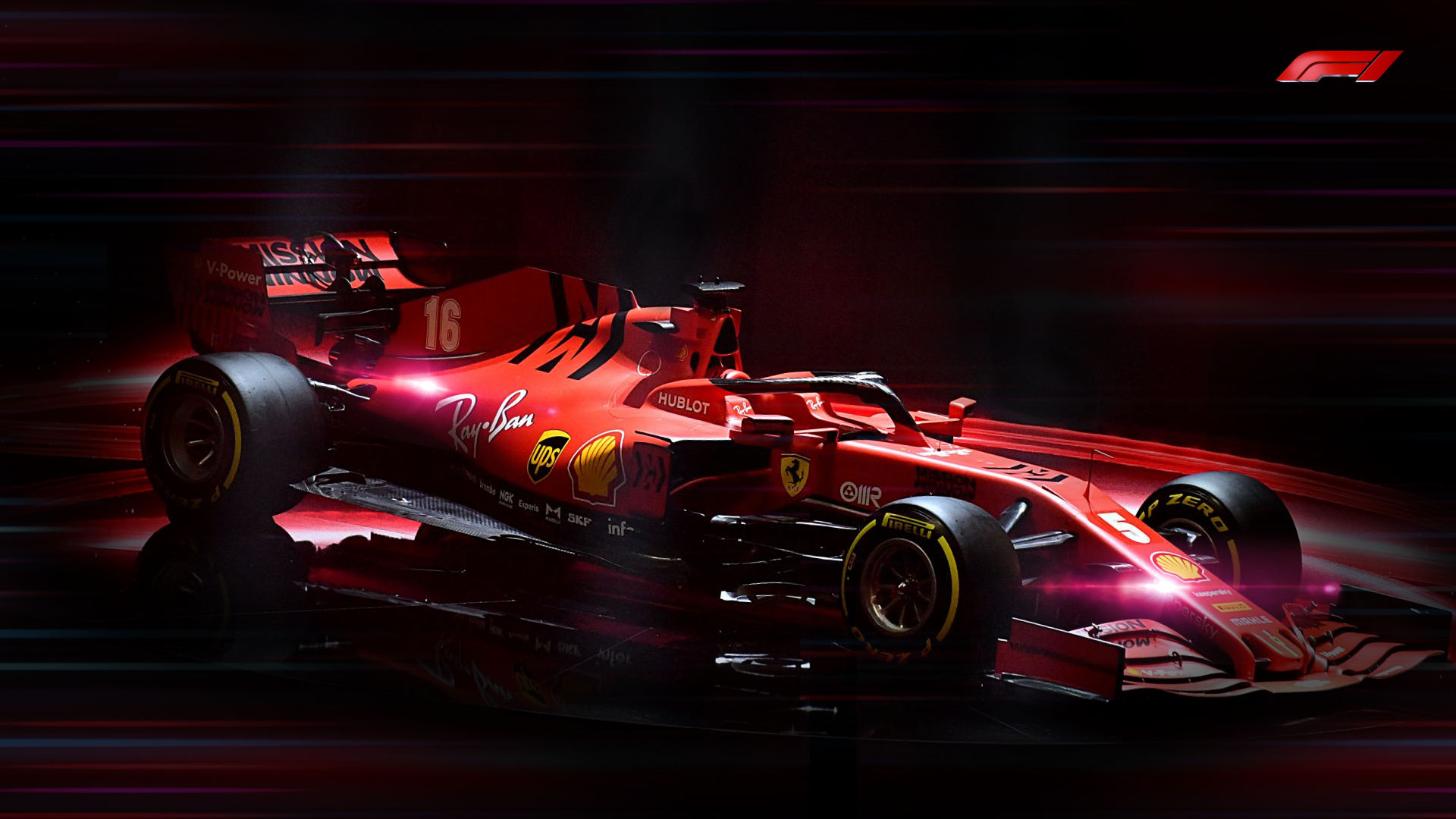 Ferrari 2020 Sf1000 F1 Car Wallpaper