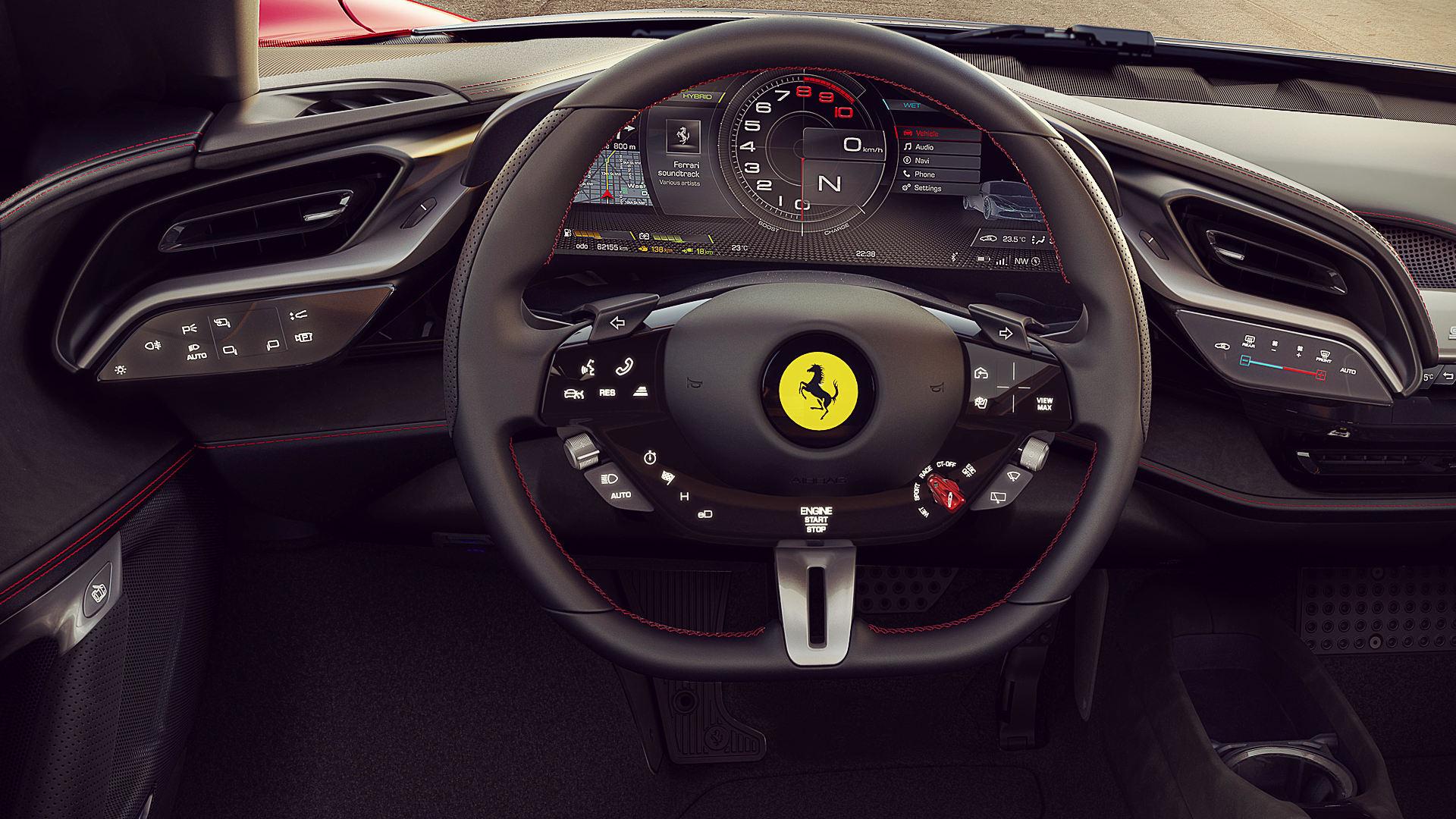 Ferrari Sf90 Stradale 2020 Interior