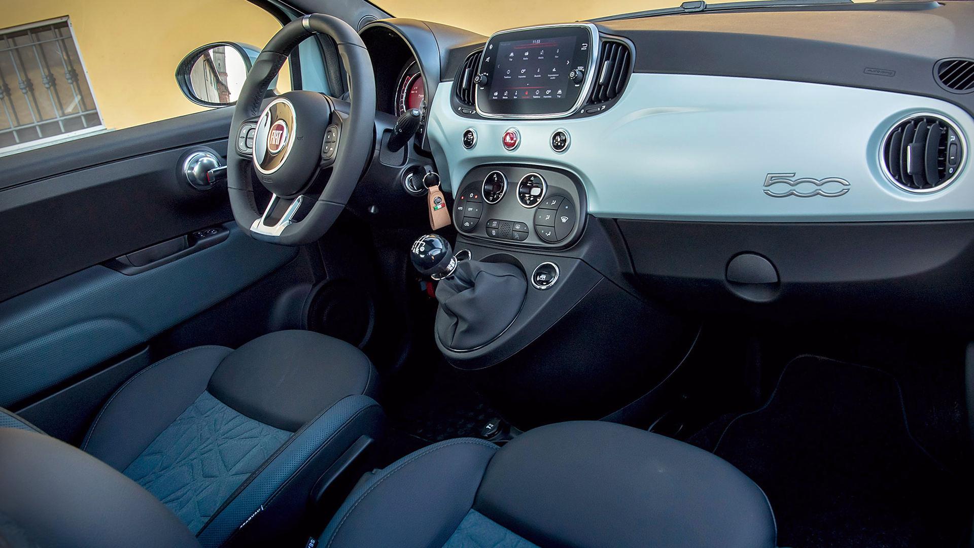 Wonderbaar 2020 Fiat 500 Hybrid Interior RV-93