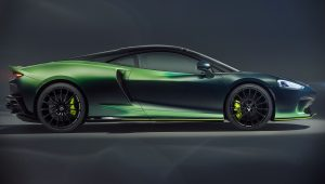 2020 McLaren GT Verdant Side Wallpaper