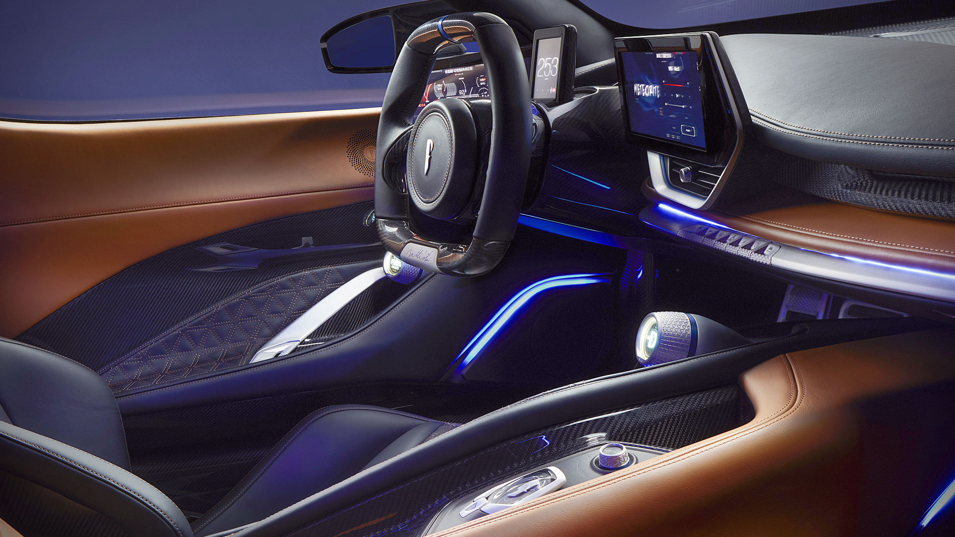 2020 Pininfarina Battista Interior