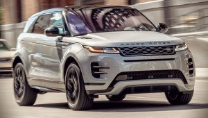 2020 Range Rover Evoque Black Pack Wallpaper