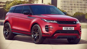 2020 Range Rover Evoque Red Black Pack
