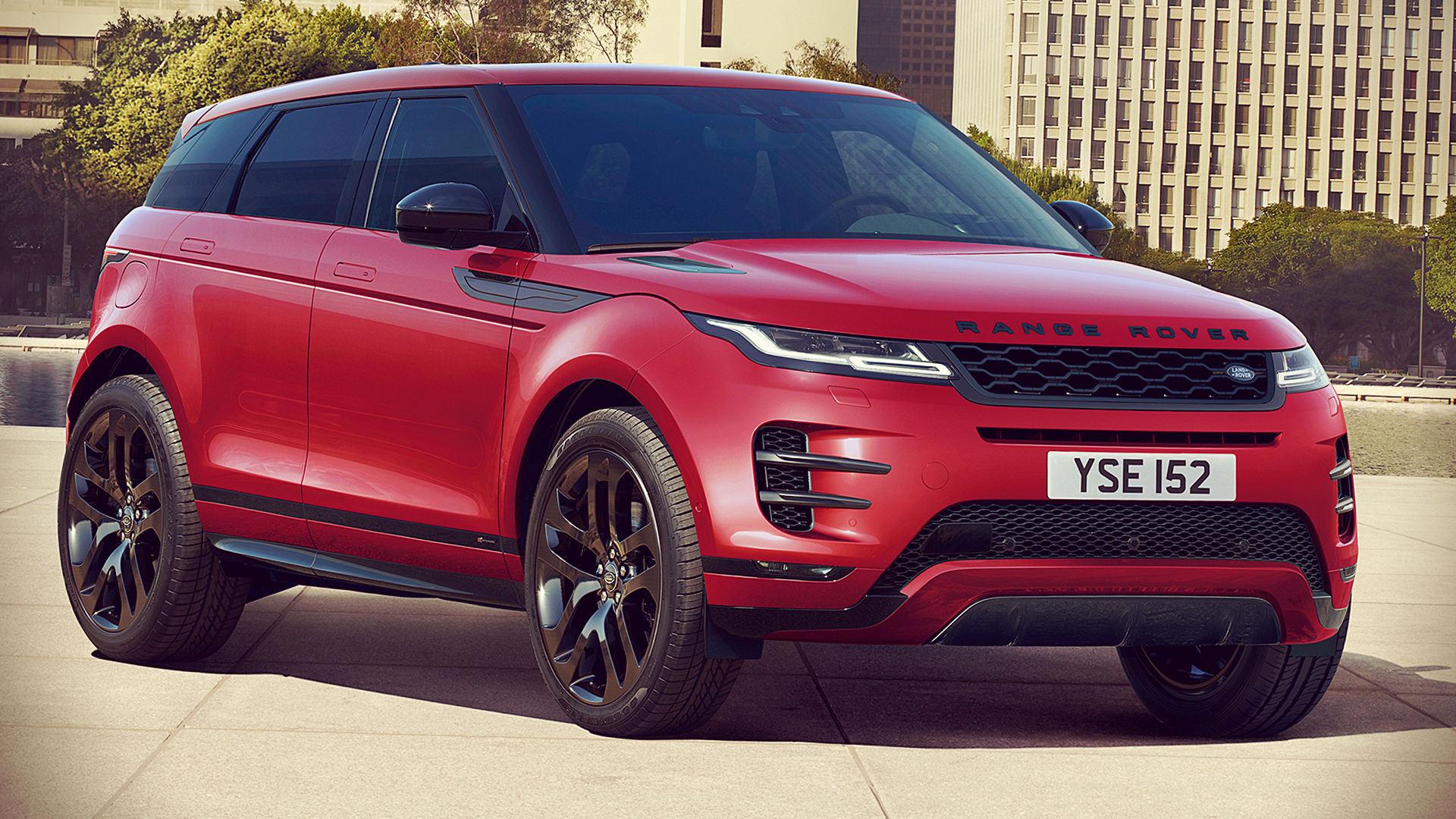 2020 Range Rover Evoque Red Black Pack