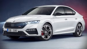 2020 Skoda Octavia RS iV Wallpaper