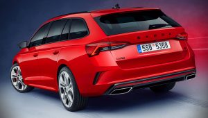 Skoda Octavia RS iV 2020 Combi Wallpaper