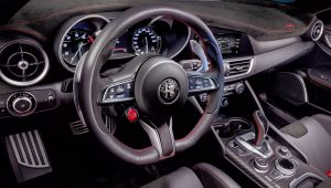 2021 Alfa Romeo Giulia GTA Interior Wallpaper