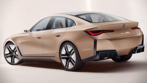 2021 BMW Concept i4 Wallpaper