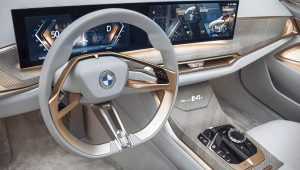 2021 BMW Concept i4 Interior Wallpaper