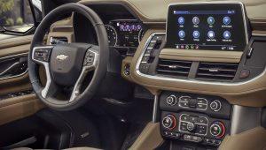 Chevrolet Suburban 2021 Interior
