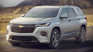 2021 Chevy Traverse Wallpaper