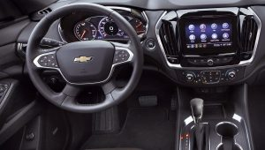 Chevrolet Traverse 2021 Interior Wallpaper