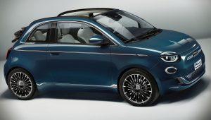 2021 Fiat 500 la Prima Cabrio Wallpaper