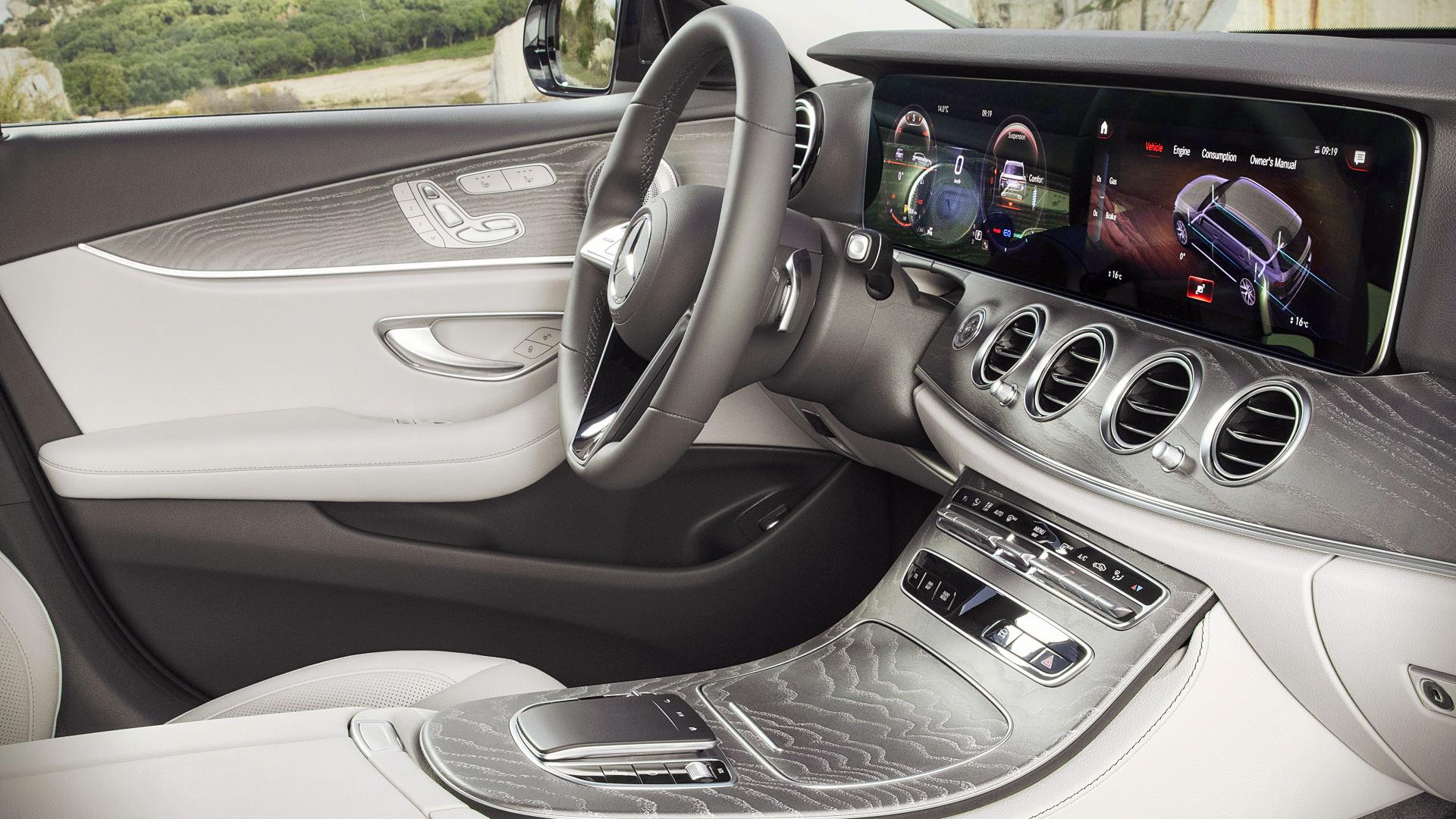 2021 Mercedes Benz E-Class 350 All-Terrain Interior