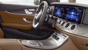 2021 Mercedes Benz E-Class Interior Wallpaper