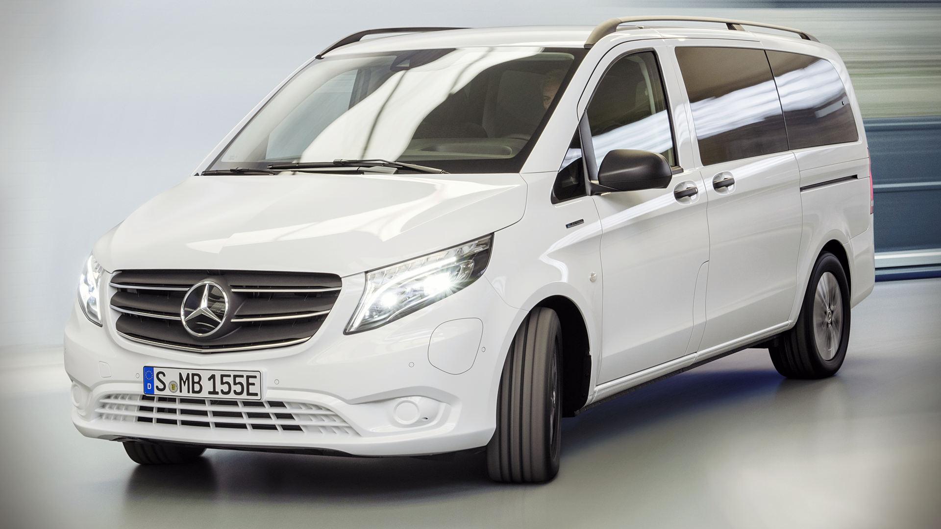 2021 Mercedes Benz eVito Tourer Wallpaper