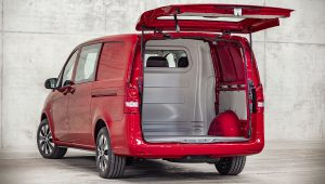 Mercedes Benz Vito 2021 Trunk Wallpaper