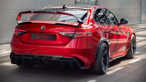 Alfa Romeo Giulia GTA 2021 Back Wallpaper