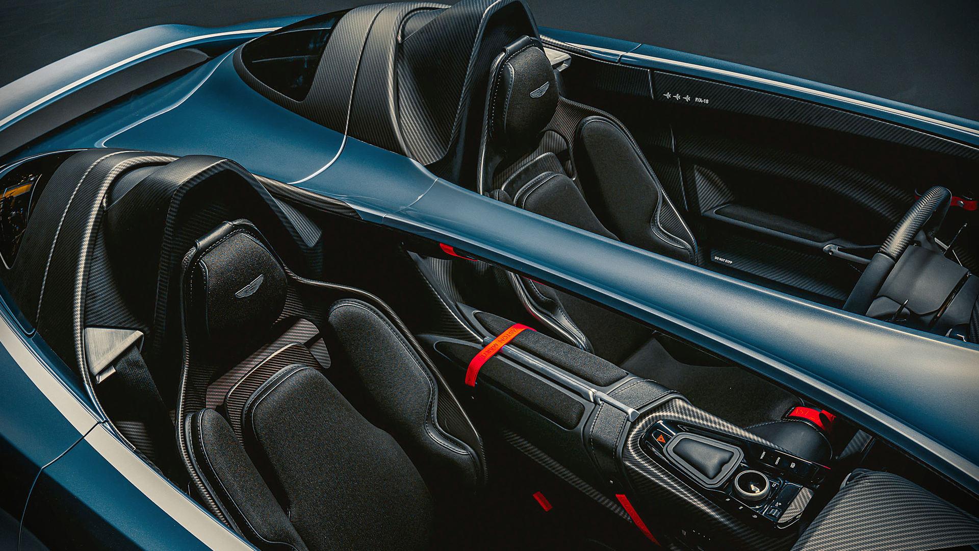 Aston Martin V12 Speedster 2021 Seats Wallpaper