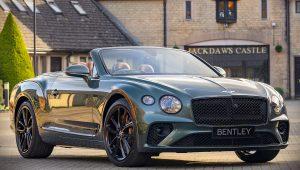 2020 Bentley Continental GT Convertible Wallpaper Equestrian