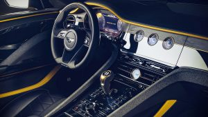 Bentley Mulliner Bacalar 2020 Interior Wallpaper