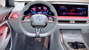 BMW Concept i4 2021 Interior Wallpaper
