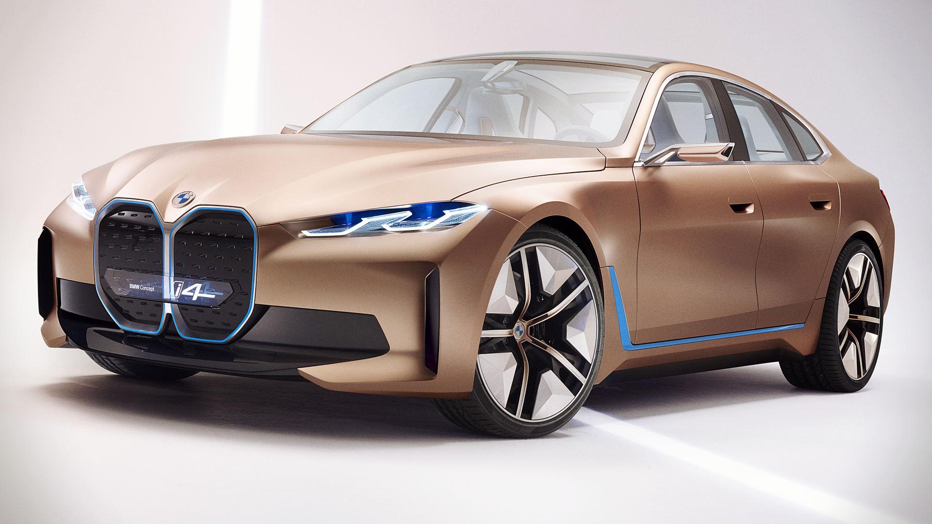 BMW Concept i4 2021