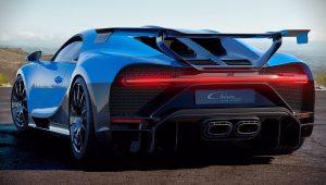 Bugatti Chiron Pur Sport 2020 Back Wallpaper
