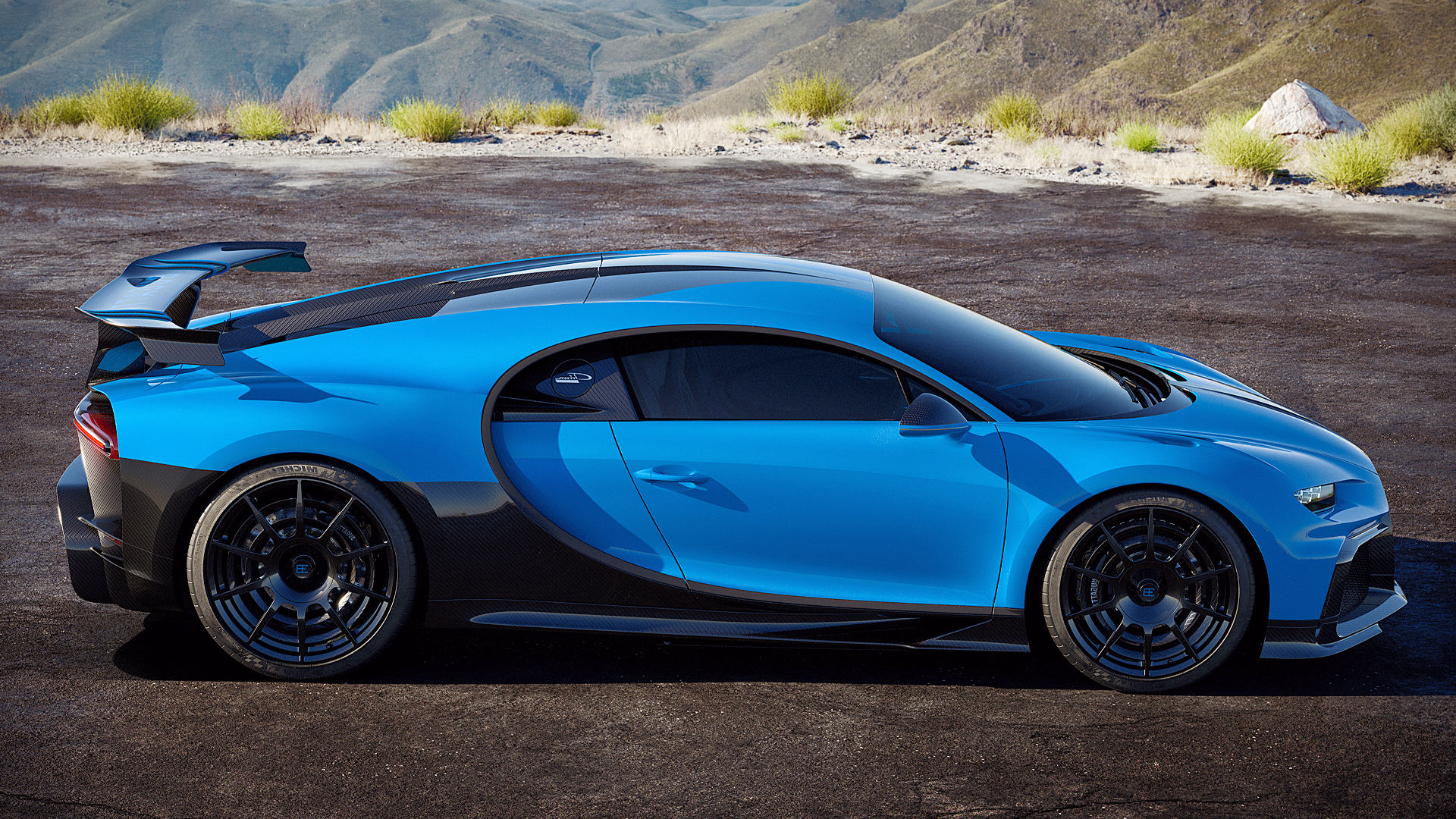 Bugatti Chiron Pur Sport 2020 Side Wallpaper Hd