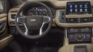 Chevrolet Suburban 2021 Interior Wallpaper