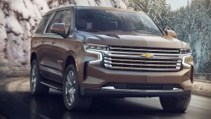 2021 Chevrolet Suburban Suv Wallpaper