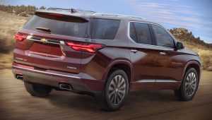 2021 Chevy Traverse Hd Wallpaper